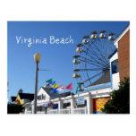 Virginia Beach Amusement Park Post Card