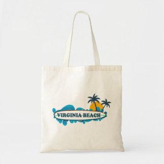 Virginia Beach. Budget Tote Bag