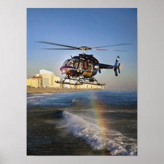 Virginia Beach Bell 407 Póster