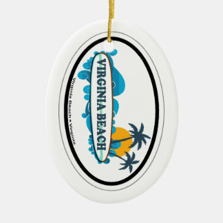 Virginia Beach. Ceramic Ornament
