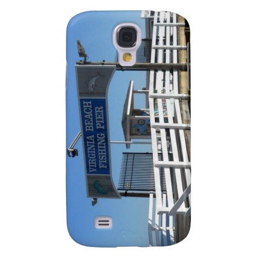 Virginia Beach Fishing Pier Samsung Galaxy S4 Cases
