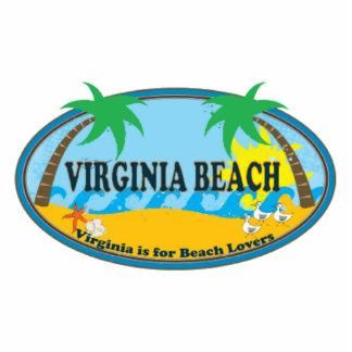 Virginia Beach. Fotoescultura Vertical