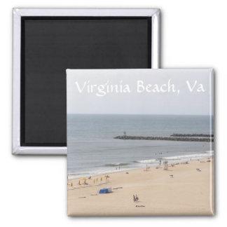 Virginia Beach Imán Para Frigorífico