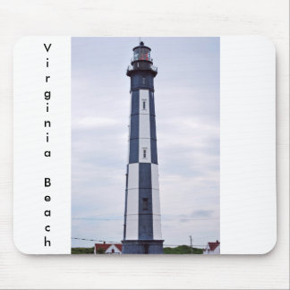 virginia beach lighthouse mouse pad