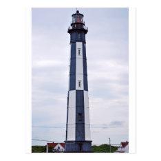 virginia beach lighthouse postcard at Zazzle
