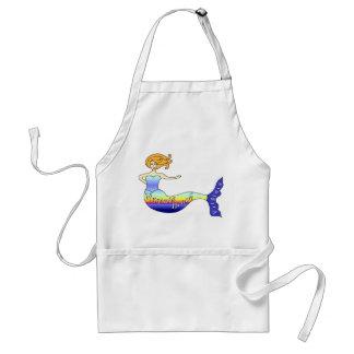 Virginia Beach Mermaid Adult Apron
