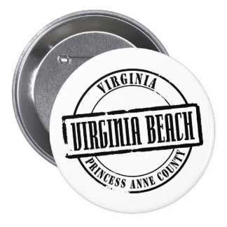 Virginia Beach Title Pinback Button
