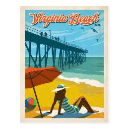 Virginia Beach, VA Postcard