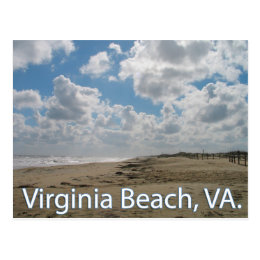 Virginia Beach, VA Virginia Vacation Post Card