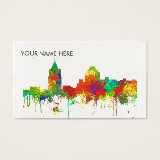 Virginia Beach Viginia Skyline SG Business Card