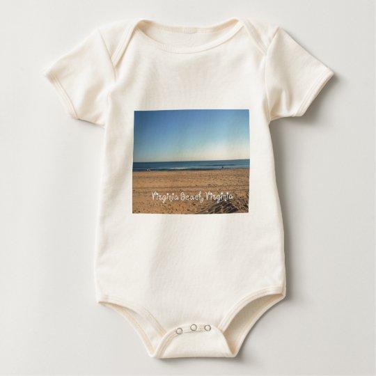 Virginia Beach, Virginia Baby Bodysuit