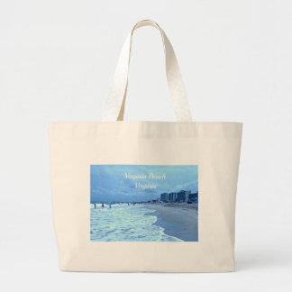 Virginia Beach, Virginia Jumbo Tote Bag