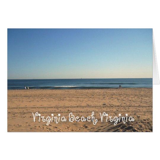 Virginia Beach, Virginia Card