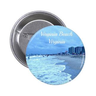 Virginia Beach, Virginia Pin Redondo 5 Cm