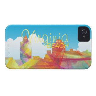 VIRGINIA BEACH, VIRGINIA SKYLINE WB1 - iPhone 4 Case-Mate CASE