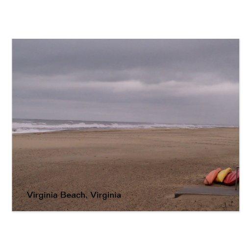 Virginia Beach, Virginia, USA, Postcards Scene 1