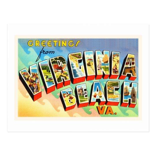 Baby Gifts Virginia Beach : Virginia beach va vintage travel postcard zazzle