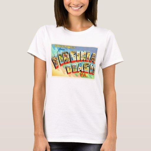 Virginia Beach T Shirt Design