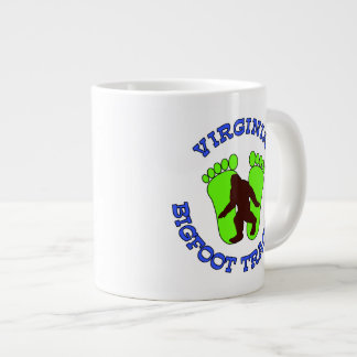 Virginia Bigfoot Tracker Large Coffee Mug