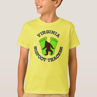Virginia Bigfoot Tracker T-Shirt
