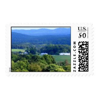 Virginia Blue Ridge Mountains Postage
