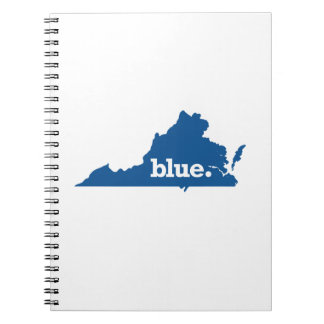 VIRGINIA BLUE STATE NOTEBOOK