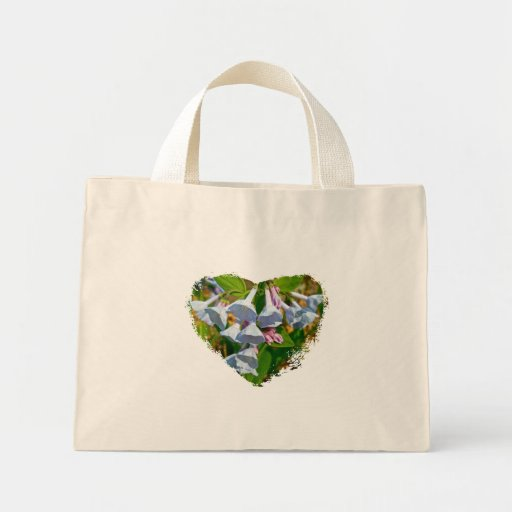 Virginia Bluebells Coordinating Items Canvas Bags