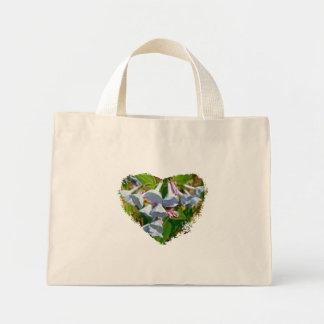 Virginia Bluebells Coordinating Items Mini Tote Bag