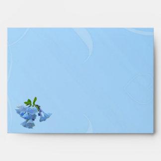 Virginia Bluebells Debut Congratulations Envelope
