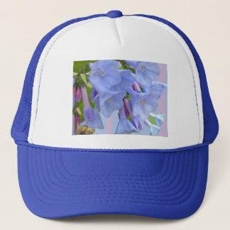 Virginia Bluebells Wildflower Hat