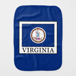 Virginia Burp Cloth
