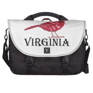 VIRGINIA CARDINAL BAG FOR LAPTOP
