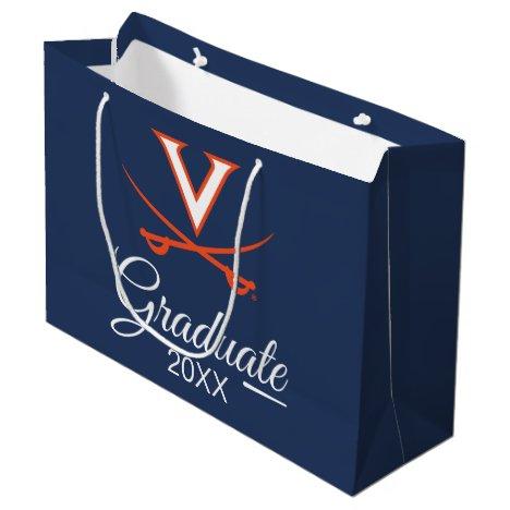 Virginia Cavaliers   Graduation Large Gift Bag