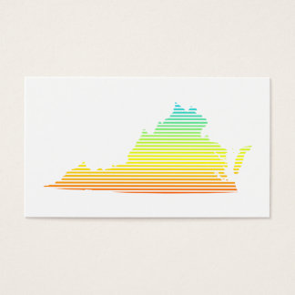 virginia chill fade business card