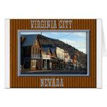 Virginia City Nevada Card