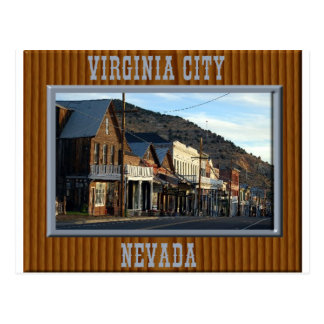 Virginia City Nevada Postcard
