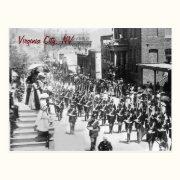 Virginia City Parade Vintage Postcard