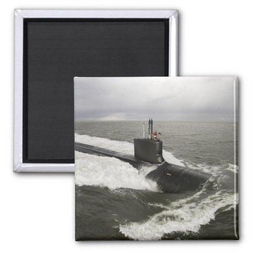 Virginia-class attack submarine fridge magnets