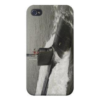 Virginia-class attack submarine iPhone 4 cover
