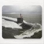 Virginia-class attack submarine mouse pad