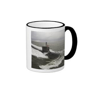 Virginia-class attack submarine ringer mug