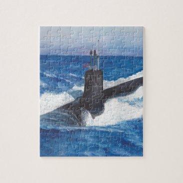 Virginia Class Warriors Submarine Jigsaw Puzzle