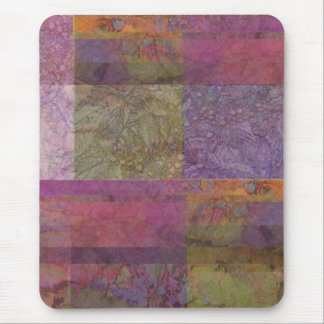 Virginia Creeper Abstract Mouse Pad