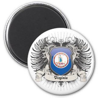 Virginia Crest Fridge Magnet
