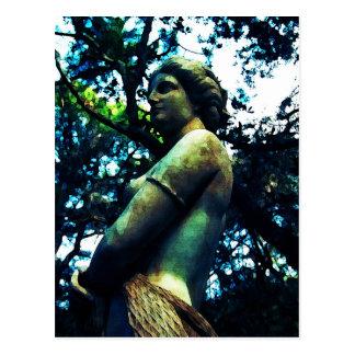Virginia Dare Statue Postcard