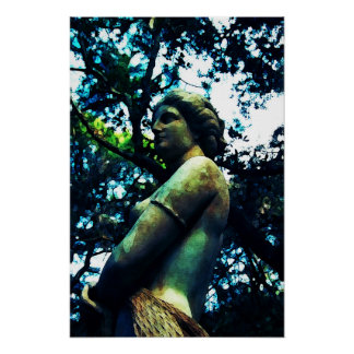 Virginia Dare Statue Poster