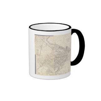 Virginia del este taza de dos colores