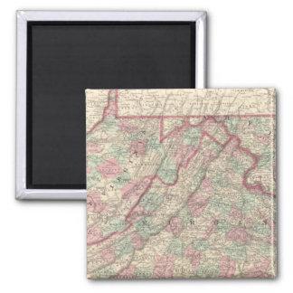 Virginia, Delaware, Maryland, and West Virginia Magnet