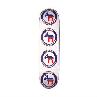 Virginia Democratic Party Skate Board