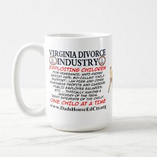 Virginia Divorce Industry. Mugs